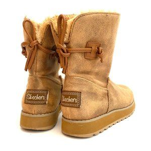 ❗️SOLD❗️Skechers Keepsakes Hearth Tan Boots 6